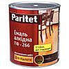 Эмаль ПФ-266 красно-коричневая 0,9 кг Paritet