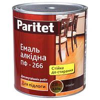 Эмаль ПФ-266 красно-коричневая 0,9 кг Paritet, фото 1