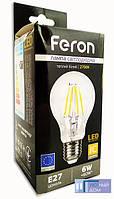 Світлодіодна лампа Feron LB-57 6W 2700K E27, фото 1