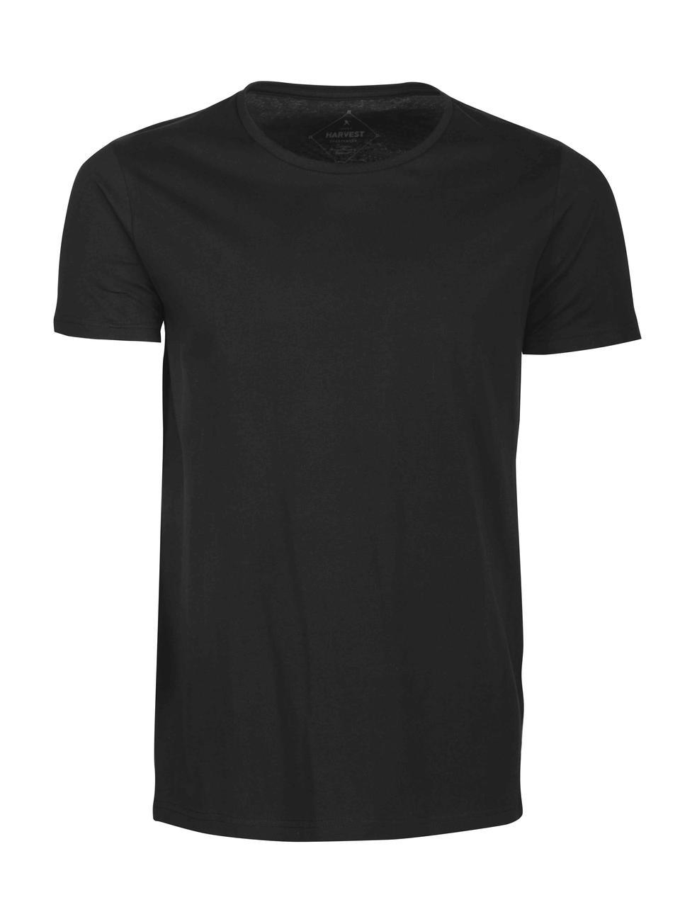 Мужская футболка Twoville от ТМ James Harvest (цвет черный)