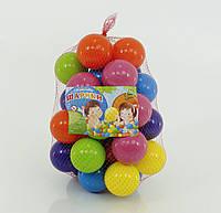 Шарики для сухого бассейна диаметром 7 см в сетке 50 штук M-Toys