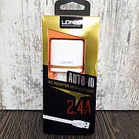 Зарядное устройство LDNIO DL-AC52 2USB (2.4A) + Micro USB кабель (1m)