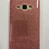 Чехол для смартфона Samsung Galaxy J120H J1 2016 перелив бледно-розовый