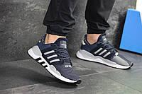 4acf6fd4 Кроссовки мужские темно синие Adidas Equipment 91/18, весенние кроссовки