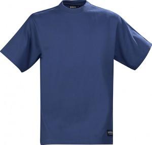 Футболка с уплотненными (цвет средний синий)