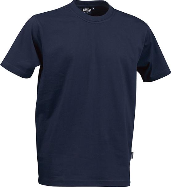 Мужская футболка American T от ТМ James Harvest (цвет темно-синий)