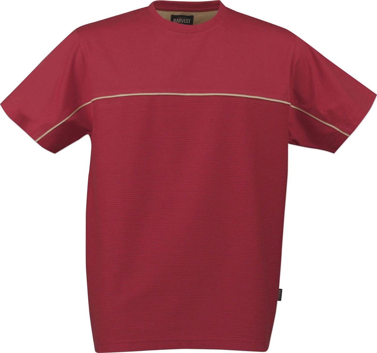 Футболка Newport от ТМ James Harvest (цвет красный)