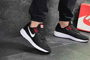 Летние мужские кроссовки Nike Air Zoom Structure 21,черно-белые, фото 2