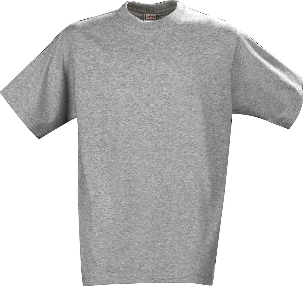 Футболка мужская Heavy от ТМ Printer (цвет серый-меланж)