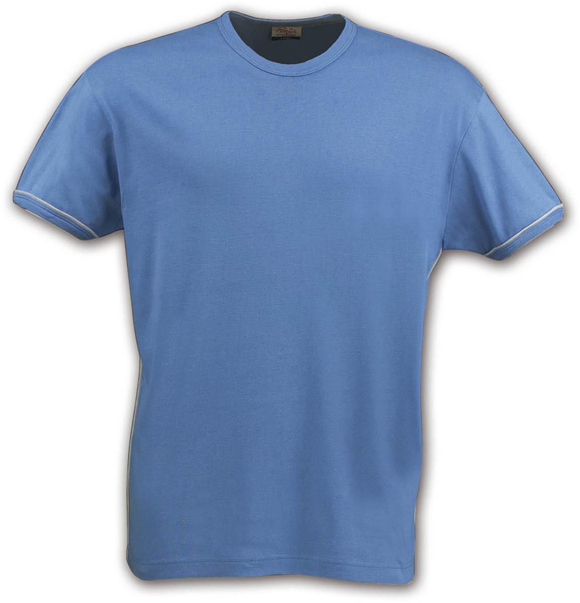 Футболка мужская Racket от ТМ Printer (цвет небесно-синий)