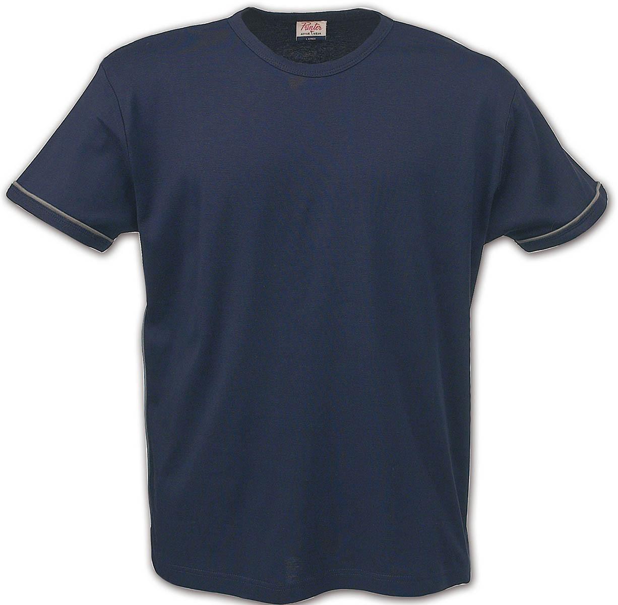 Футболка мужская Racket от ТМ Printer (цвет темно-синий)