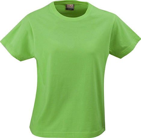 Женская футболка Ladies Heavy T-shirt от ТМ Printer Essentials (цвет лайм)