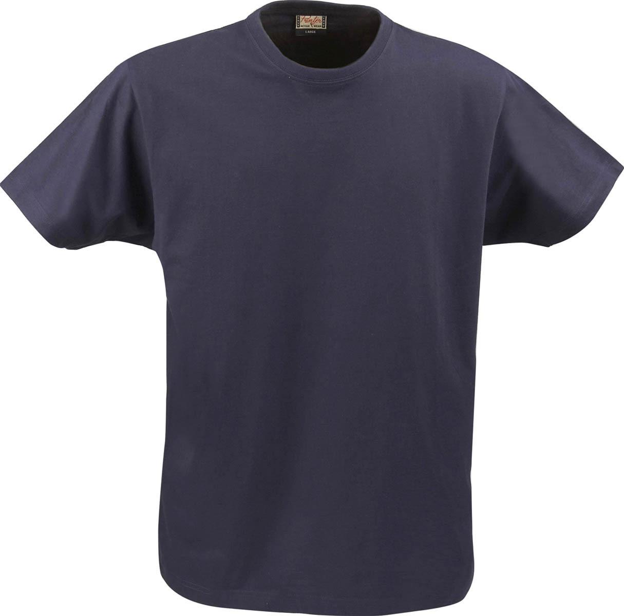 Футболка мужская RSX Heavy T-shirt от ТМ Printer (цвет темно-синий)