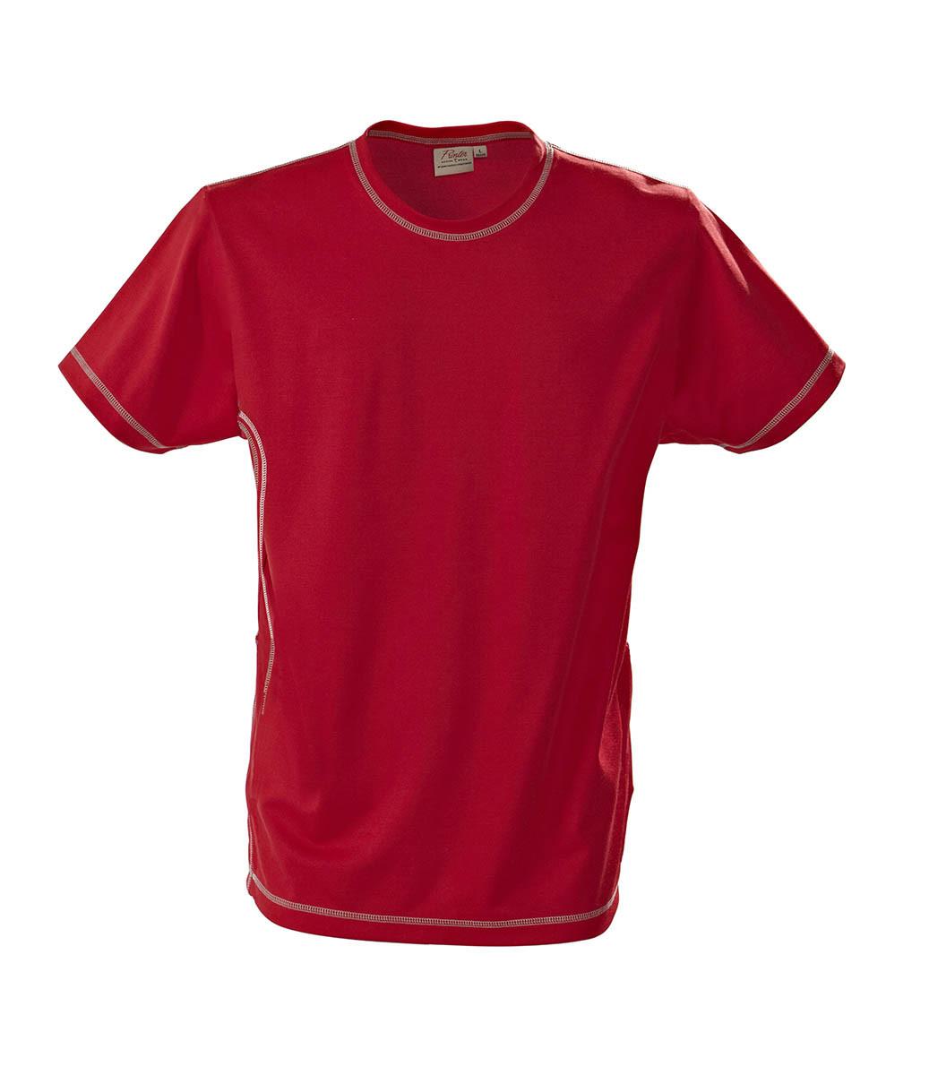 Футболка мужская Sprint от ТМ Printer (цвет красный)