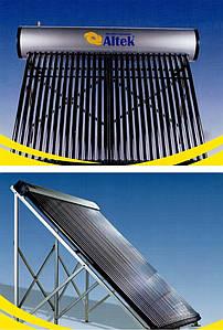 Новые модели солнечных коллекторов ™ Altek для нагрева воды.