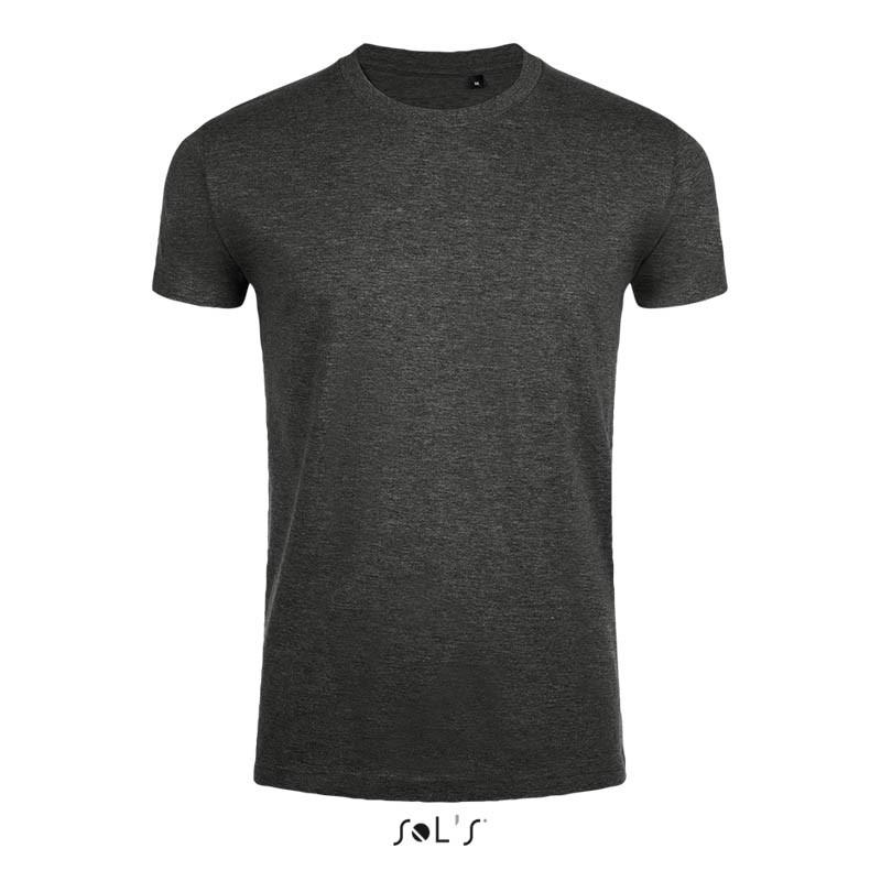 Приталенная футболка SOL'S IMPERIAL FIT (цвет угольный меланж)