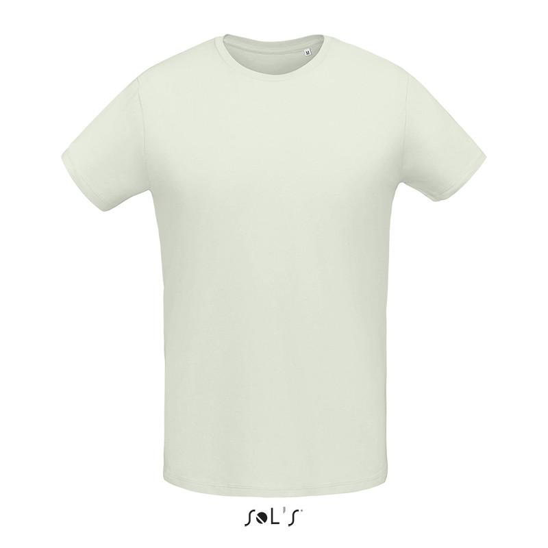 Мужская облегающая футболка из джерси с круглым вырезом SOL'S MARTIN MEN (цвет пастельный зеленый)