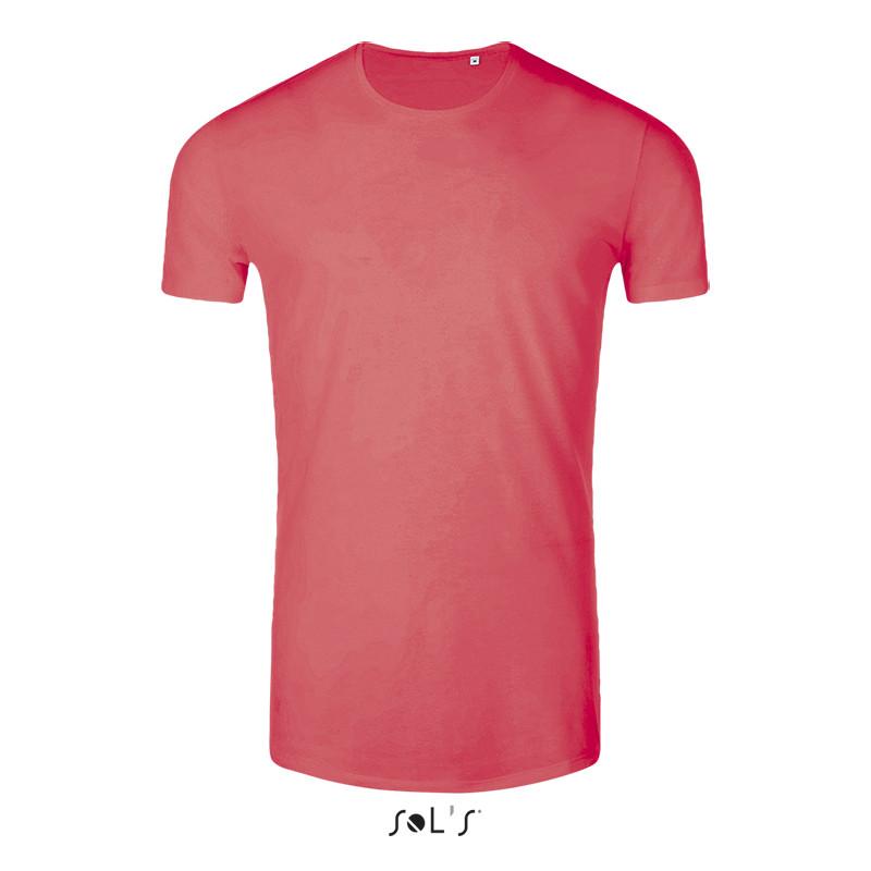 Мужская футболка SOL'S maui (цвет неоновый коралл)