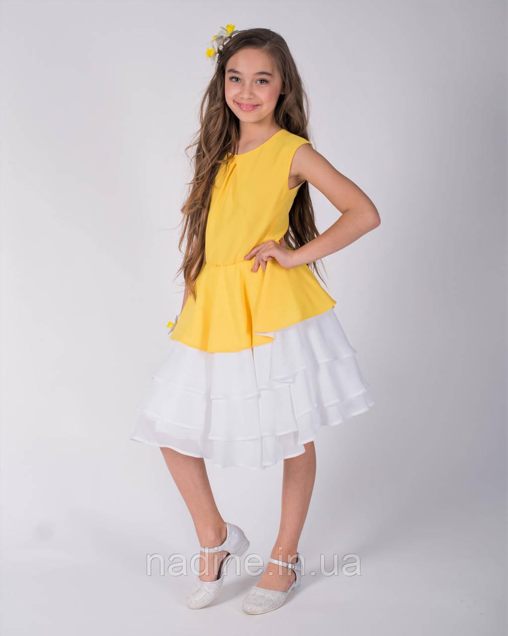 Шифоновое дизайнерское платье Nadine, Elegant Narcissus