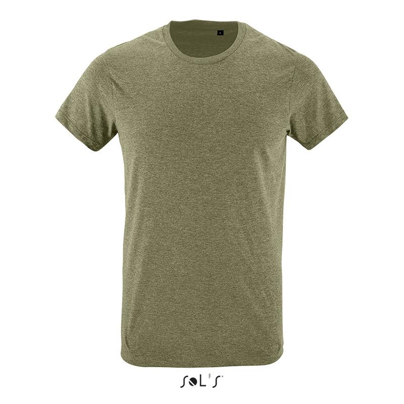 Приталенная футболка SOL'S REGENT FIT (цвет теплый хаки)