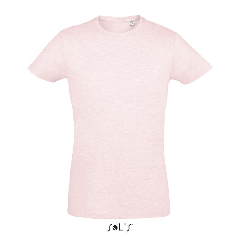 Приталенная футболка SOL'S REGENT FIT (цвет тепло-розовый)