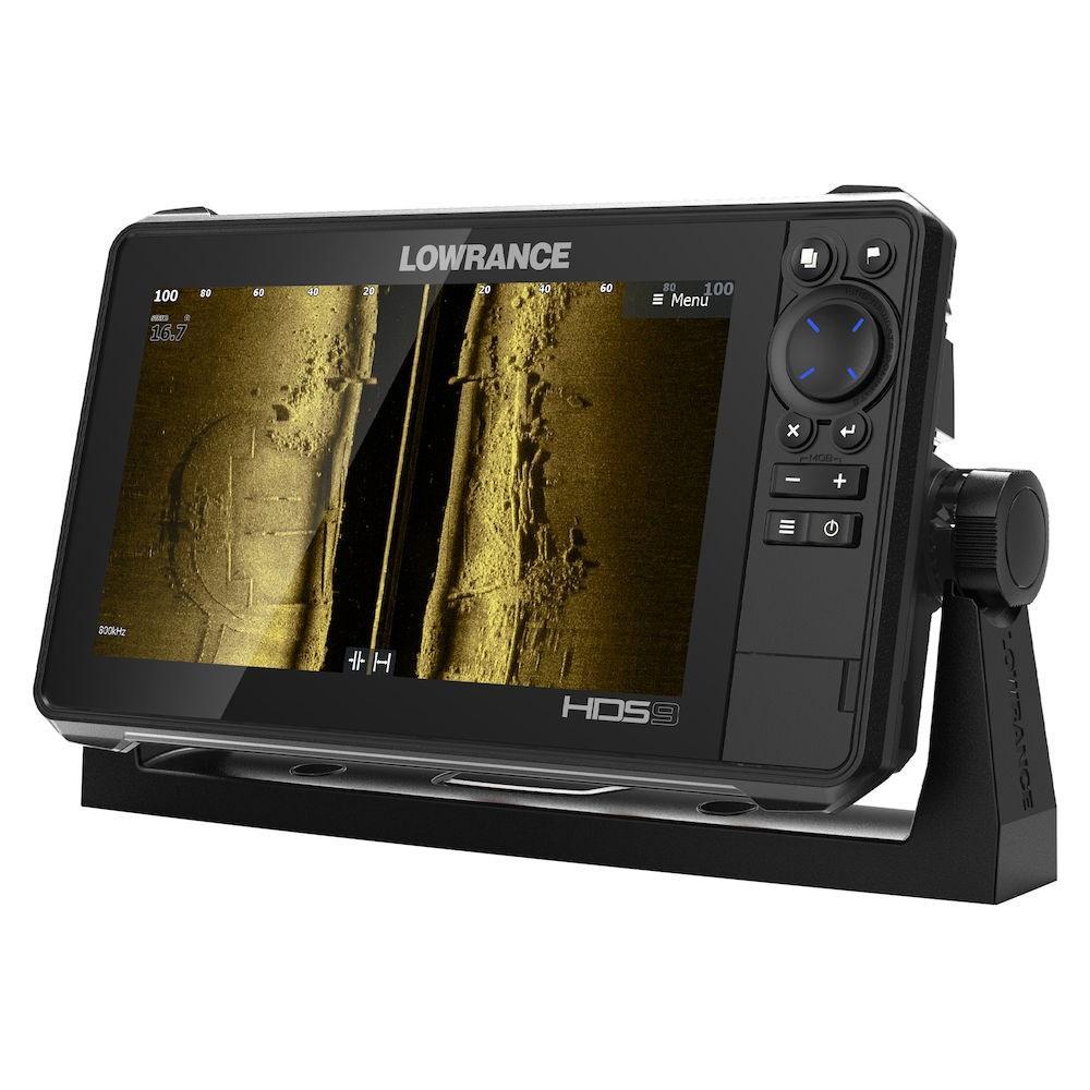 Ехолот Картплотер Lowrance HDS-9 Live Active Imaging 3 in 1 + Navionics Platinum