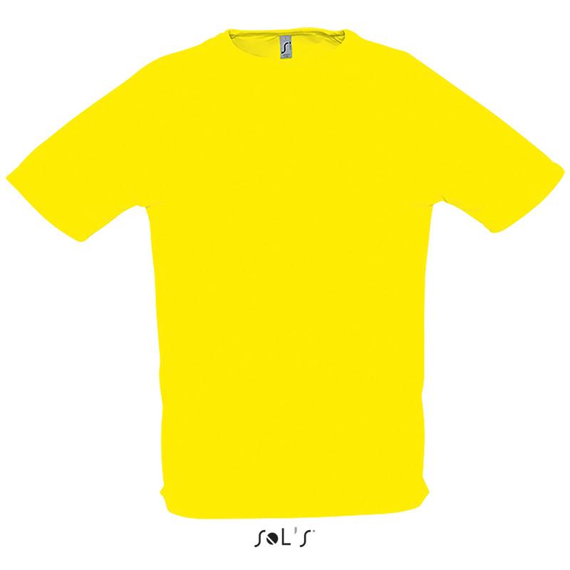 Футболка SOL'S SPORTY (цвет лимонный)