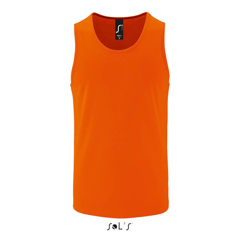 Мужская спортивная майка SPORTY TT MEN (цвет неоновый оранжевый)