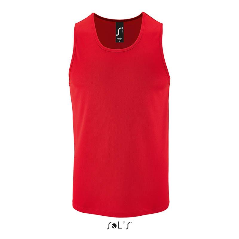 Мужская спортивная майка SPORTY TT MEN (цвет красный)
