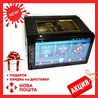 Автомагнитола 2DIN 6511 Android GPS (без диска) , Автомобильная магнитола , Сенсорная автомагнитола GPS+WiFi, Новинка