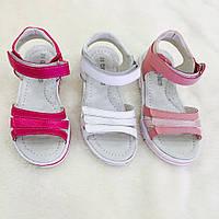 Детские босоножки на липучках для девочек оптом Размеры 26-31микс , фото 1