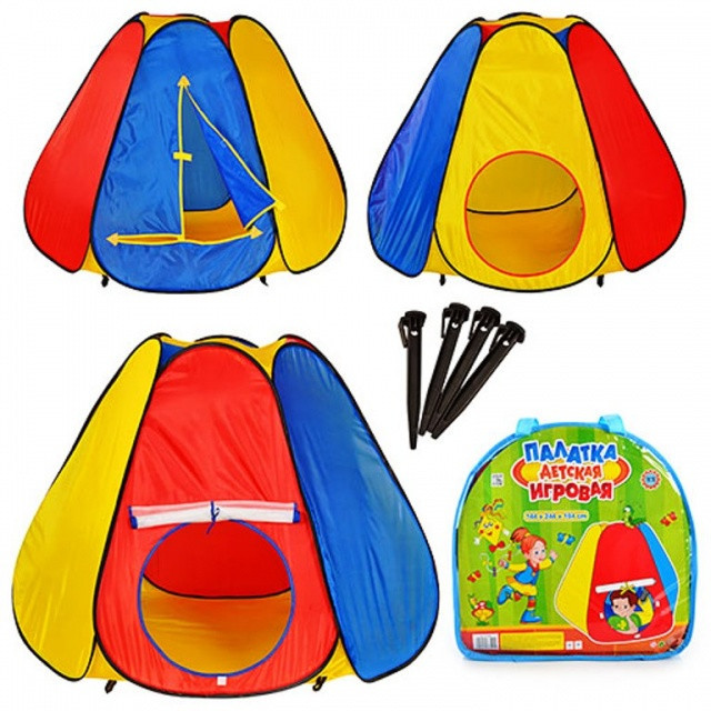 Детская игровая палатка Пирамида 5008, домик для игр