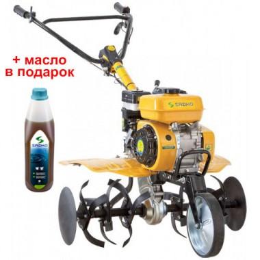 Мотоблок бензиновий Sadko М-500PRO (в комплекті - 6фрез , 1 колесо)