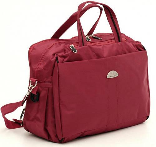 Небольшая дорожная сумка 18 л. Wallaby 10717 красный