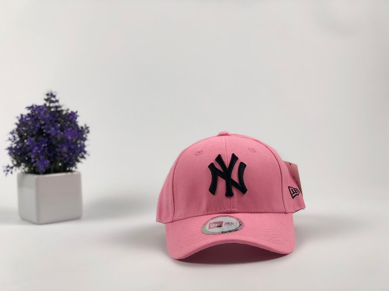 Кепка бейсболка New York Yankees (розовая)