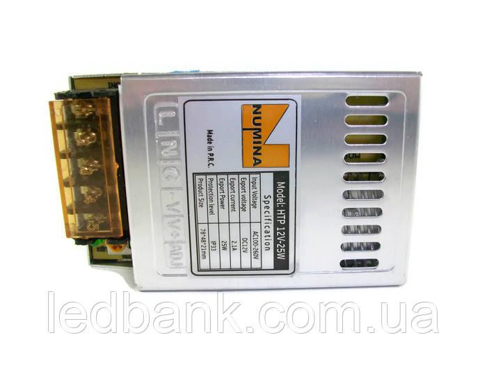 Блок живлення 12V 25W HTP-25-12 MINI