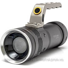 Мощный ручной тактический фонарь - прожектор с зумом Police BL-T801 8000Lm 158000W