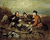 Набор-раскраска по номерам Охотники на привале худ Перов Василий