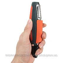 Триммер универсальный MicroTouch SwitchBlade, Машинка для стрижки бороды, носа, ушей, висков, бровей, Скидки, фото 3