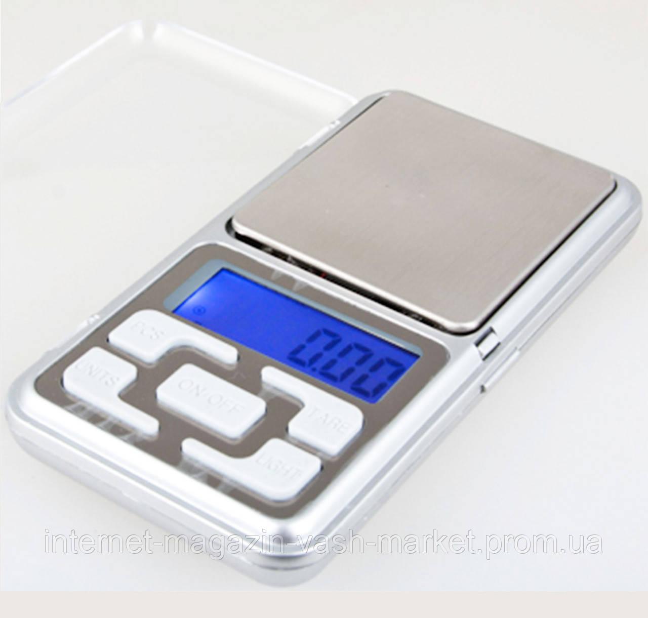 Карманные электронные ювелирные, кухонные весы до 500 гр! Сверх точные!, Акция