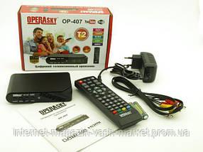 TV тюнер, ТВ приставка, Ресивер цифрового телевидения Т2, Цифровая приставка Т2, Цифровой эфирный тюнер Т2, фото 3