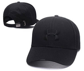 Бейсболка кепка Андер Армор мужская/женская черная (реплика) Сap Under Armour Black