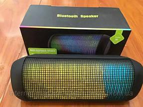 Светомузыкальная Портативная Bluetooth колонка X2 Wirless, фото 3