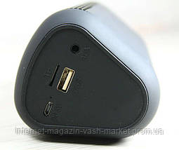 Светомузыкальная Портативная Bluetooth колонка X2 Wirless, фото 2