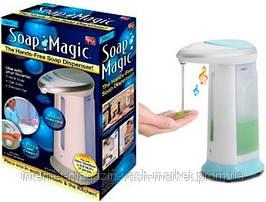 Сенсорный дозатор мыла мыльница Soap Magic, Качество