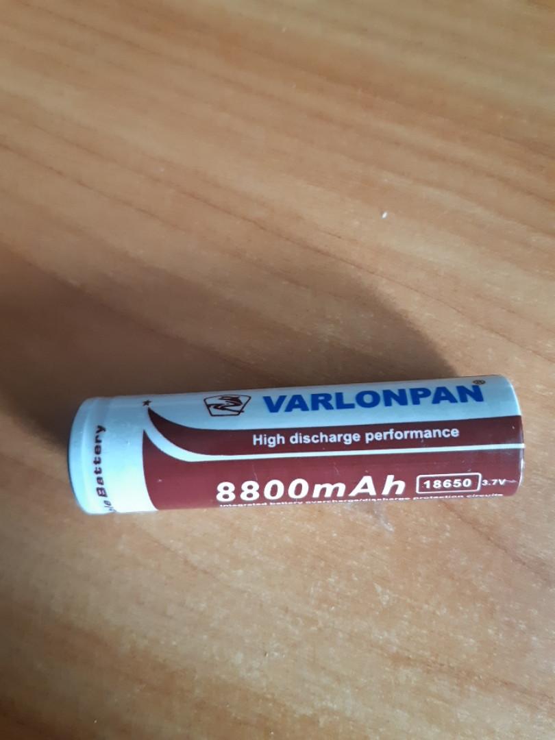 Аккумулятор 18650 Li-ion Varlonpan  3,7V 8800mAh