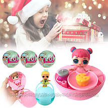Кукла - сюрприз, Кукла LOL Mini в шаре 6 см, Мини Кукла LQL в шарике, Куколка ЛОЛ, Кукла в яйце, Скидки, фото 3