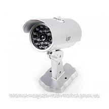 Муляж камеры видеонаблюдения Mock Security Camera ZL 2011 - камера обманка со светодиодом, фото 3