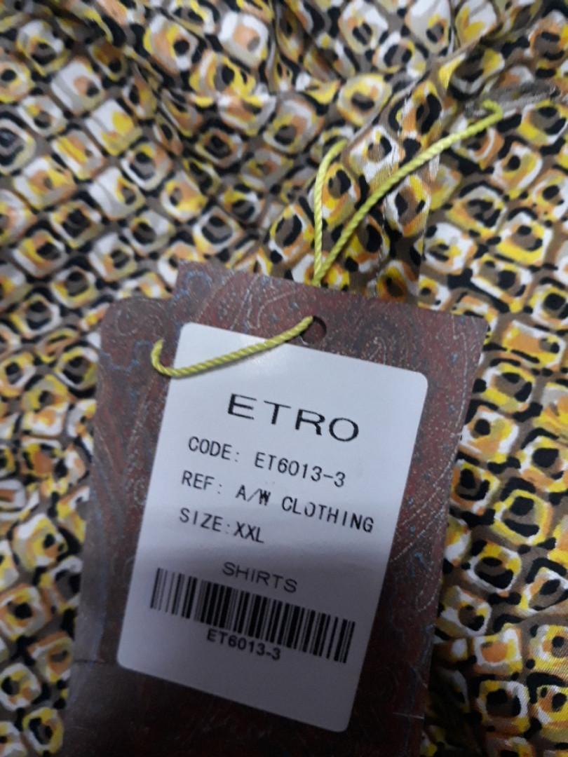 Рубашка мужская Etro ET6013-3
