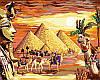Набор-раскраска по номерам Загадочный Египет
